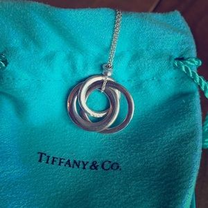 Tiffany 1837 Interlocking Circles Pendant.